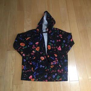 NWT Old Navy floral hoodie